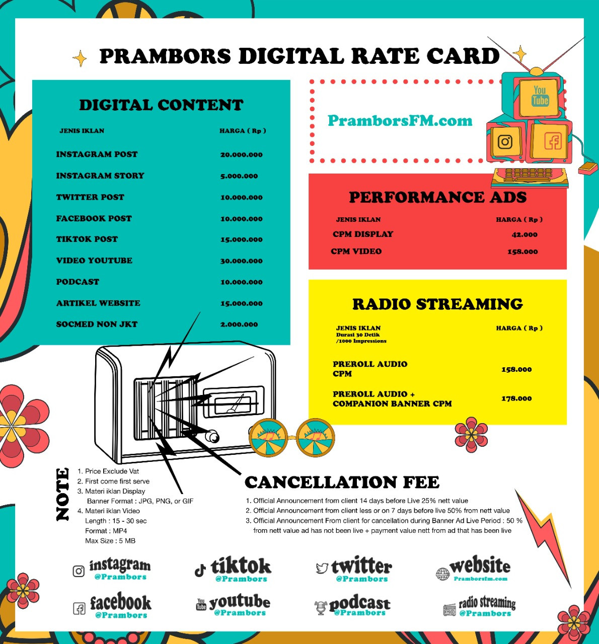 rate card 2
